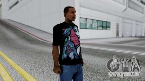 Shirt from Jeff Hardy v2 pour GTA San Andreas troisième écran