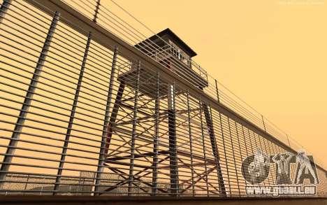 Nouvelle Base Militaire v1.0 pour GTA San Andreas quatrième écran