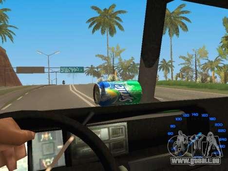 Boxville Sprite pour GTA San Andreas vue de droite