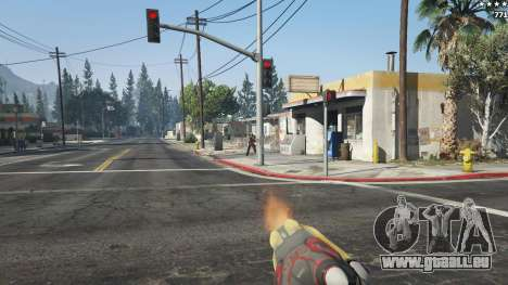 GTA 5 Huo Long Heater septième capture d'écran