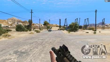GTA 5 P-90 из Battlefield 4 dritten Screenshot