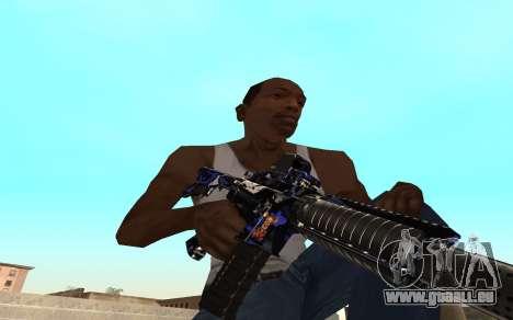 M4 c cub für GTA San Andreas zweiten Screenshot