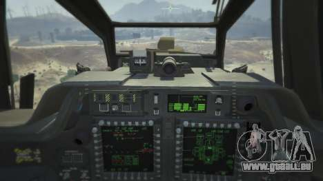 GTA 5 AH-64D Longbow Apache fünfter Screenshot