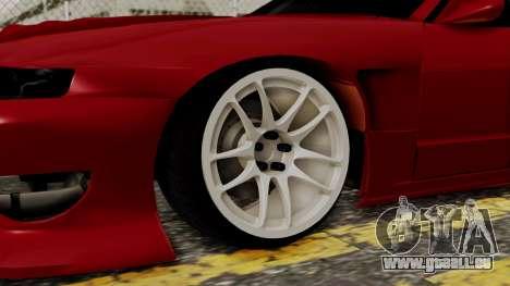 Nissan Silvia Odyvia pour GTA San Andreas sur la vue arrière gauche