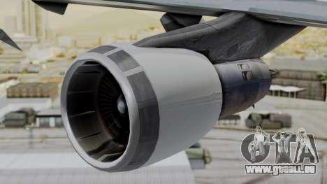 Boeing 747 Southern Air pour GTA San Andreas vue de droite