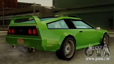 Deluxo from Vice City Stories für GTA San Andreas linke Ansicht