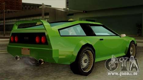 Deluxo from Vice City Stories pour GTA San Andreas laissé vue