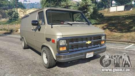 Chevrolet G20 Van pour GTA 5