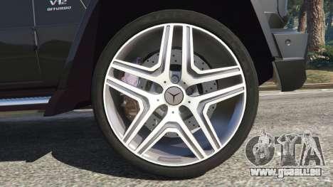 GTA 5 Mercedes-Benz G65 AMG v0.1 [Alpha] hinten rechts