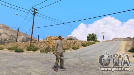 GTA 5 Krummsäbel aus Skyrim