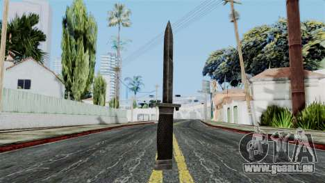 Allied Knife from Battlefield 1942 pour GTA San Andreas