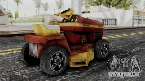 Mower from Bully pour GTA San Andreas laissé vue