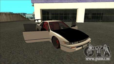 Nissan Silvia S13 Drift pour GTA San Andreas vue de côté