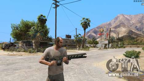 GTA 5 Die railgun aus Battlefield 4