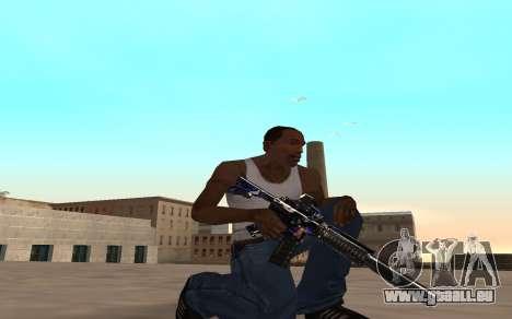 M4 c cub für GTA San Andreas