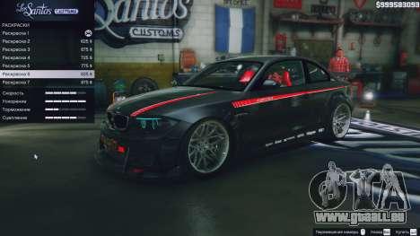 BMW 1M v1.0 pour GTA 5