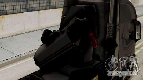 Volvo FH Euro 6 10x4 Exclusive High Cab für GTA San Andreas Rückansicht