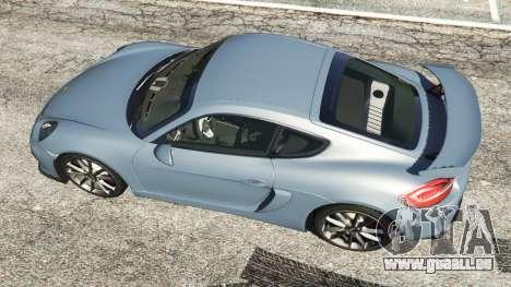 GTA 5 Porsche Cayman 2016 Rückansicht