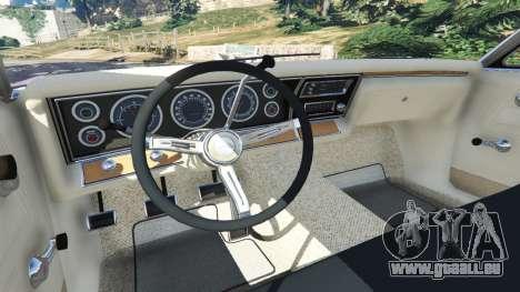 GTA 5 Chevrolet Impala 1967 avant droite vue de côté