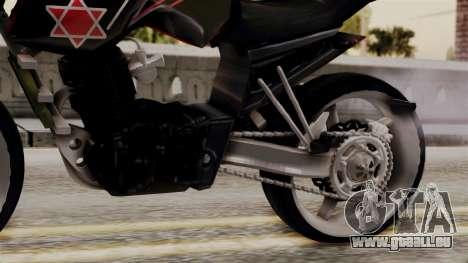 Byson Street Fighter pour GTA San Andreas vue de droite