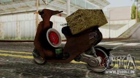 Zip SP Rat Style pour GTA San Andreas laissé vue