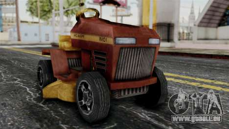 Mower from Bully pour GTA San Andreas