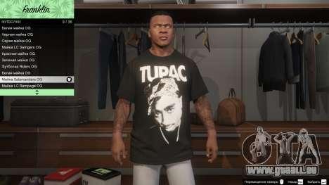 Franklin Hip Hop T-Shirts für GTA 5