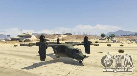 GTA 5 CV-22B Osprey (VTOL) vierten Screenshot
