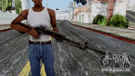DP LMG from Battlefield 1942 für GTA San Andreas dritten Screenshot