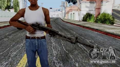DP LMG from Battlefield 1942 für GTA San Andreas dritten Screenshot
