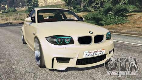 BMW 1M v1.1 pour GTA 5