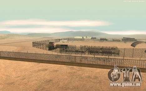 Nouvelle Base Militaire v1.0 pour GTA San Andreas deuxième écran