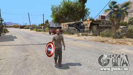 Schild Captain America für GTA 5