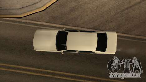 Mercedes Benz W140 S600 pour GTA San Andreas vue de droite