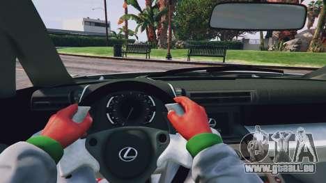 GTA 5 Lexus LFA 2012 Rückansicht