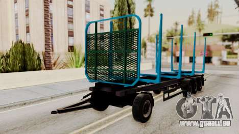 Wood Transport Trailer from ETS 2 für GTA San Andreas