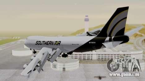 Boeing 747 Southern Air pour GTA San Andreas laissé vue