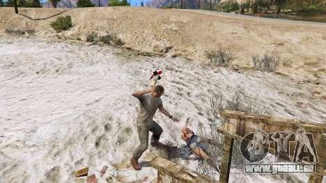 GTA 5 Axt aus Dead Rising vierten Screenshot