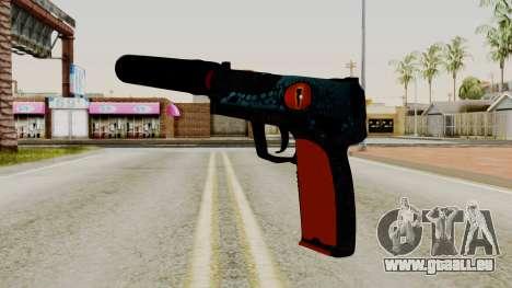 USP-S Caiman pour GTA San Andreas deuxième écran