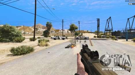 GTA 5 P-90 из Battlefield 4 achten Screenshot
