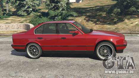 GTA 5 BMW 535i (E34) vue latérale gauche