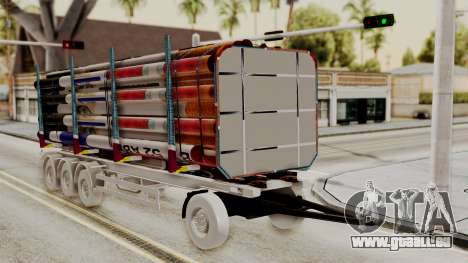 Timber Trailer from ETS 2 für GTA San Andreas