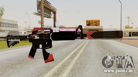 M4A1-S Cyrex für GTA San Andreas
