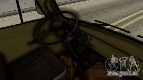 UAZ 3303 Kaulquappe für GTA San Andreas rechten Ansicht