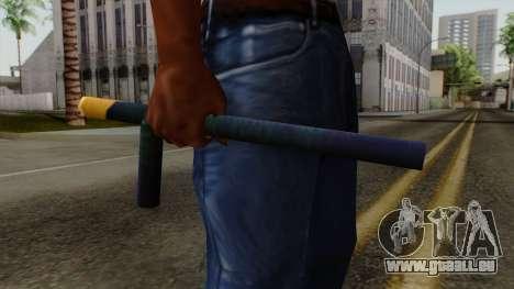 Brasileiro Night Stick v2 pour GTA San Andreas troisième écran