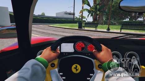 GTA 5 Ferrari Enzo v0.5 vue arrière