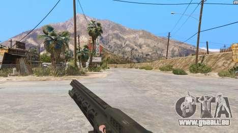 GTA 5 Die railgun aus Battlefield 4 dritten Screenshot