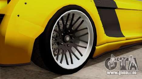 Obey 9F Liberty Works v1.0 pour GTA San Andreas sur la vue arrière gauche