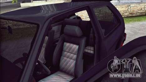 Volkswagen Golf Mk2 Line für GTA San Andreas Seitenansicht