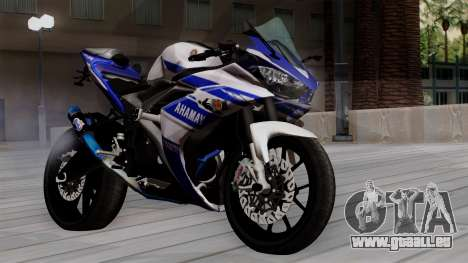 Yamaha YZF R-25 GP Edition 2014 pour GTA San Andreas